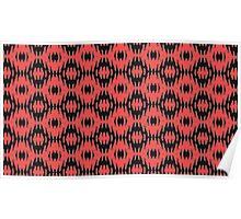 Custom Red Modern Design Poster