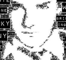 Hermione Word Art Sticker
