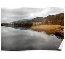 Winter Reflections on the Lake of Menteith Poster