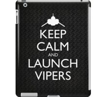 Keep Calm and Launch Vipers (Metal Decking) iPad Case/Skin