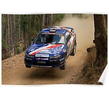 Jumpin Jack Monkhouse Rally Australia 2013 Poster