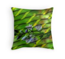 Digital Abstract in Redfield Throw Pillow