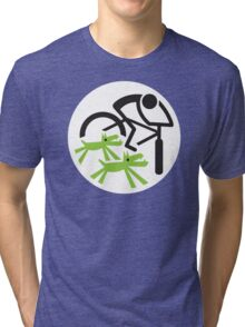 Dangers on the road #5 Tri-blend T-Shirt
