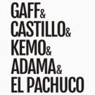 Gaff & Castillo & Kemo & Adama & El Pachuco - Light by olmosperfect