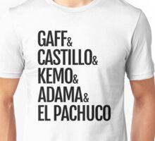 Gaff & Castillo & Kemo & Adama & El Pachuco - Light Unisex T-Shirt