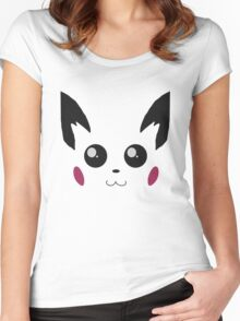 Pichu (Pokemon) Women's Fitted Scoop T-Shirt