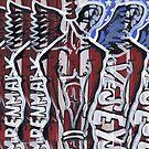 American Flag Vesey by Wesley Clark