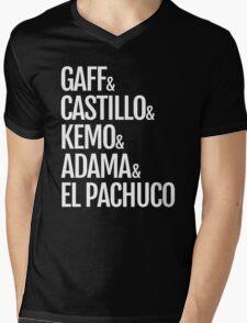 Gaff & Castillo & Kemo & Adama & El Pachuco - Dark Mens V-Neck T-Shirt