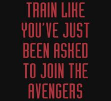 Train like - Avengers (red) by keirrajs