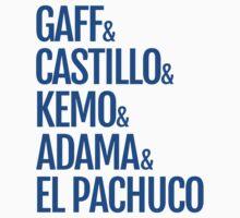 Gaff & Castillo & Kemo & Adama & El Pachuco - Blue by olmosperfect