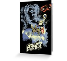 TIME LORD: Episode V Greeting Card
