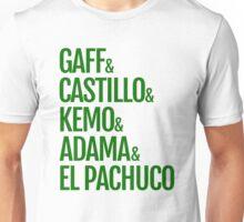 Gaff & Castillo & Kemo & Adama & El Pachuco - Green Unisex T-Shirt