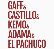 Gaff & Castillo & Kemo & Adama & El Pachuco - Red by olmosperfect