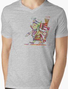 Tlazoteotl Mens V-Neck T-Shirt