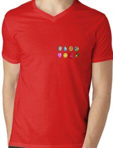 Got all 8 badges(Without Pocket) Mens V-Neck T-Shirt