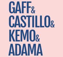 Gaff & Castillo & Kemo & Adama - Blue  by olmosperfect
