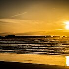 Burning Sunset in Oregon by Joe Blount