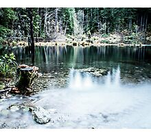 Laird Lake, OR Photographic Print