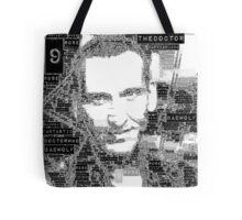 9th doctor word art Tote Bag