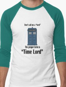 "The Term is ""Time Lord"" T-Shirt"