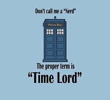 "The Term is ""Time Lord"" Unisex T-Shirt"
