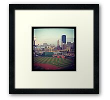 PNC Park Pittsburgh PA Framed Print
