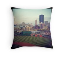PNC Park Pittsburgh PA Throw Pillow