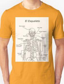 El Esqueleto Unisex T-Shirt