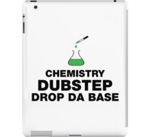 Dubstep And Chemistry Humor iPad Case/Skin