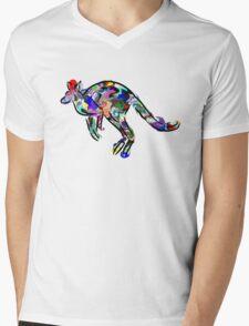 Kangaroo 2 Mens V-Neck T-Shirt
