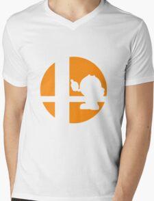 Pac-Man - Super Smash Bros. Mens V-Neck T-Shirt