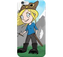 Yogscast Hannah on a Mountain iPhone Case/Skin