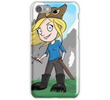 Yogscast Hannah on a Mountain iPhone Case/Skin
