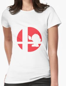 Pac-Man - Super Smash Bros. Womens Fitted T-Shirt