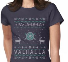 FA - LA - LA - LA... VALHALLA - shieldmaiden Womens Fitted T-Shirt