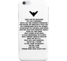 Nightwing 3 iPhone Case/Skin