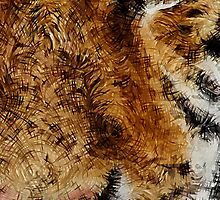 Animal Art - Tiger by Maximilian San