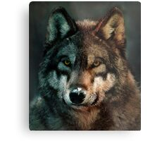 Animal Art - Wolf Metal Print