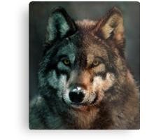 Animal Art - Wolf Metal Print