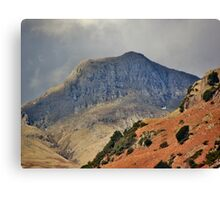 Stormy Langdales English Lake District Cumbria Canvas Print