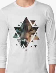 Animal Art - Wolf Long Sleeve T-Shirt