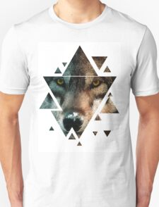 Animal Art - Wolf Unisex T-Shirt