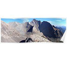 Highwood panorama I Poster