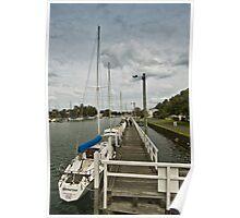 Port Fairy wharf #3 Poster