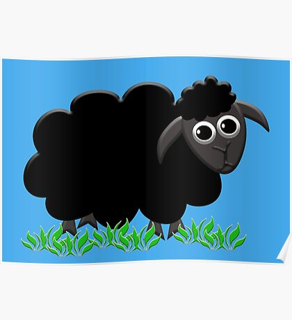 Solo Black Sheep Poster