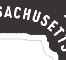 Massachusetts - My home state Sticker