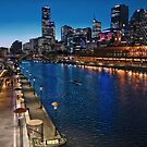 Melbourne Southbank Skyline HDR Victoria by PhotoJoJo