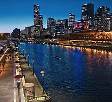 Melbourne Southbank Skyline HDR Victoria by PhotoJoJo
