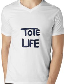 Tote life ( We Bare Bears ) Mens V-Neck T-Shirt