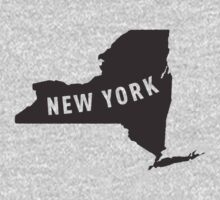 New York - My home state Kids Clothes